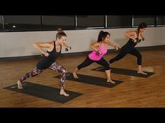 HardCORE Yoga with Weights™ Mini Bootcamp - 25 min - YouTube