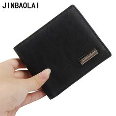 Hot Sale New style 100% leather hasp design men's wallets with coin pocket fashion brand quality purse wallet for men #Affiliate