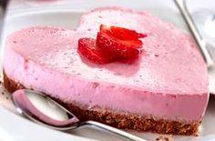 Strawberry Yogurt Cheesecake