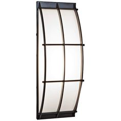 A curvaceous design narrative enlivens this wall sconce from the Tyro collection by Access Lighting. 14 wide x 5 high. Extends from the wall. Style # at Lamps Plus. Outdoor Barn Lighting, Outdoor Wall Lantern, Outdoor Walls, Outdoor Flush Mounts, Outdoor Sconces, Led Wall Sconce, Wall Sconces, Wall Fixtures, Glass Shades