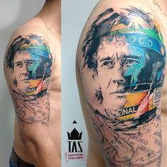 Ayrton Senna! #senna #sennatattoo #formula1 #formule1 #ayrtonsenna #interlagos #rodrigotas #tas #usoelectricink #electricink #dotworktattoo #pontilhismo #watercolortattoo #aquarela #geometrictattoo #geometric #tattoo2me #tattoaria #tattoodesign #tattoodo #tattooartistmagazine #tattooistartmag #thebesttattooartists #tattooculturemagazine #inspirationtatto #tattrx #tattoocollectors #equilattera #inkedmag #inspirationtatto