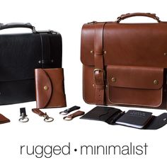 Stoked to be working with this fantastic new company @ruggedminimalist. Check out their bridle leather bags #madeinusa with the best @wickettandcraig leather available and other top of the line materials. Head over to @bestleather to snag 25% off for a limited time. #leather #leathergoods #minimalist #leatherbag by snobordir #tailrs