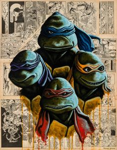 BROTHERTEDD.COM - herochan: Teenage Mutant Ninja Turtles Art by...