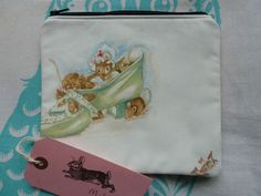 Handmade Makeup Bag Beatrix Potter Vintage New Fabric Cath Kidston Velvet Rose in Clothes, Shoes & Accessories, Women's Accessories, Purses & Wallets | eBay