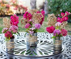 outdoor wedding receptions on a budget | affordable wedding table decorations Affordable Wedding Decoration ...