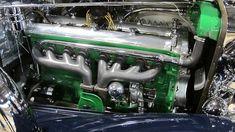 Duesenberg Model J engine, complete engineering marvel!