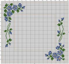 Cross Stitch Pillow, Cross Stitch Borders, Cross Stitch Rose, Cross Stitch Flowers, Cross Stitch Charts, Cross Stitch Designs, Cross Stitching, Cross Stitch Embroidery, Embroidery Patterns