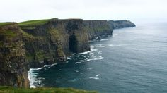 The stretch of the Cliff of Moher, Ireland