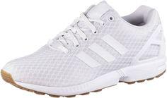 #ADIDAS #ORIGINALS #Damen #Sneaker #´ZX #FLUX´ #weiß adidas ZX FLUX. Sneaker mit…