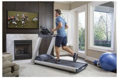 "New review for the Precor TRM 445 Precision Treadmill! # Adjustable incline: +15% to -2% decline # Motor: 3.0 HP  # Deck: Reversible # Speed Range: 0.5 – 12.0 mph # Running Surface: 22"" (W) x 56"" (L) # Heart Rate Monitoring # Preset Workouts: 23 + 16 custom # User IDs: 4 # Console Display: 7-inch color LCD #Treadmill #Cardio"