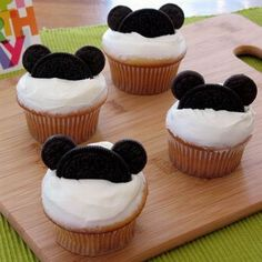 Mickey Egér muffin