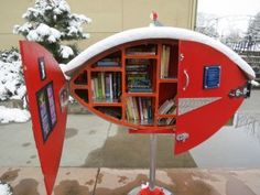 NoBo Little Libraries - Boulder Real Estate News Mini Library, Little Library, Free Library, Library Books, Little Free Pantry, Library Inspiration, Library Ideas, Boulder Real Estate, Mobile Library