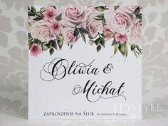 Zaproszenia ślubne kwiatowe różane Watercolor Drawing, Wedding Invitations, Drawings, Inspiration, Weddings, Google, Invitations, Cards, Biblical Inspiration