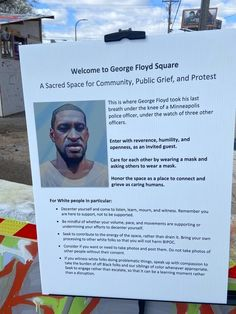 """POLITICS:Rules for White People Posted at George Floyd Square in Minneapolis Activists controlling the autonomous zone at George Floyd Square at East 38th Street and Chicago Avenue in Minneapolis have posted notices at the entrance with instructions for visitors that include a section on rules for white people entering the """"sacred space"""" where Floyd died while resisting arrest on May […] Source"""