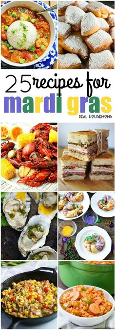 25 Mardi Gras Recipes - Real Housemoms. WE'VE ROUNDED UP THE BEST 25 MARDI GRAS RECIPES TO HELP YOU CELEBRATE FAT TUESDAY WITH NEW ORLEANS CLASSICS NO MATTER WHERE YOU LIVE!