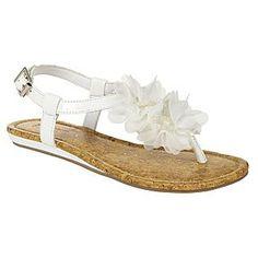 Women's Sandal Daisy - White