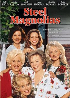 steel magnolias is the inspiration for my magnolia back tattoo for my own steel magnolias,  chris , summer and jayla.