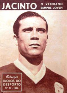 GRANDES NOMES JACINTO MARQUES Jacinto do Carmo Marques  01 / 11 / 1921 Cova da Piedade Clubes: BENFICA Lateral di...