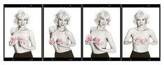"""""""Rosas de Monroe"""" Imagen perteneciente al proyecto """"Re-Construyendo Esperanza"""" por Alex Rico www.re-construyendoesperanza.org Marilyn Monroe, Daenerys Targaryen, Game Of Thrones Characters, Fictional Characters, Roses, Marylin Monroe"""
