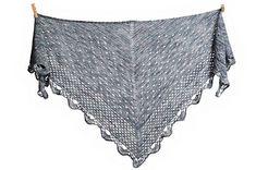 Sombre shawl- crochet