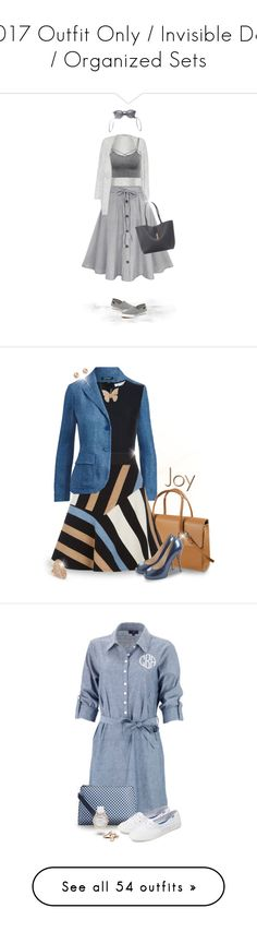 """""""2017 Outfit Only / Invisible Doll / Organized Sets"""" by joy2thahworld ❤ liked on Polyvore featuring Great Plains, Sperry, Humble Chic, Ray-Ban, Bling Jewelry, Summer, casual, gray, boardwalk and Ralph Lauren"""