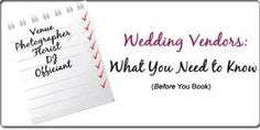 Put these six important questions at the top of your How long have you been in business and how many weddings do you do each Can you share recent references and examples of your work? (In the case of your venue, be sure to ask to see Wedding Vendors, Weddings, Year 2, Bridal Wedding Dresses, Need To Know, Ireland, Cuffs, How To Apply, This Or That Questions