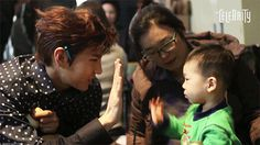 Leo he just loves kids. <---- This is my new name. Old name is Mrs.Choi