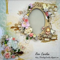 me and my craft corner : Lovely Cupid Frame for Magnolia Forever