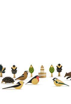Wooden toys: Dombon-a-tanya - Eperfa. Designers: Nagy Anna Nóra and Berán Emes. Making Wooden Toys, Modern Toys, Wooden Bird, Wooden Animals, Brainstorm, Wooden Crafts, Wood Toys, Diy Toys, Toddler Toys