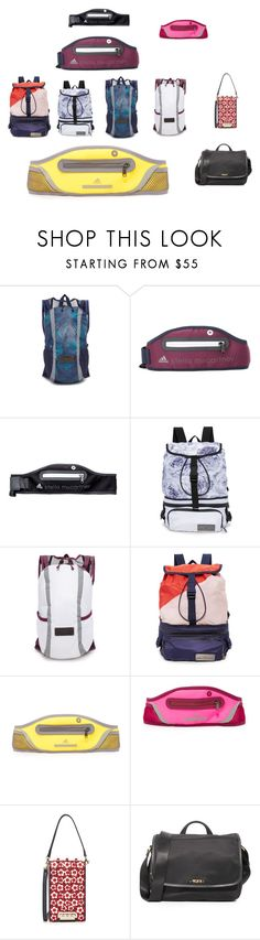 """""""collection of bags trend"""" by denisee-denisee ❤ liked on Polyvore featuring adidas, ZAC Zac Posen, Tumi and vintage"""