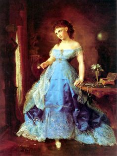 We Both Must Fade (Mrs. Fithiann) [1869] by Lilly Martin Spencer.