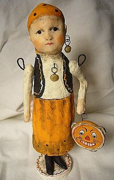 Halloween fortune teller. Someone pinned it from eBay…it is by Debbee Thibault.