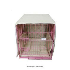 3-Piece Set: 24' Pet Crate Cover, Mattress & Bumper at 48% Savings off Retail!