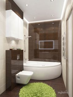 Квартира для молодого человека в стиле лофт. Использован кирпич на стенах, декоративная штукатурка, обои и ламинат.