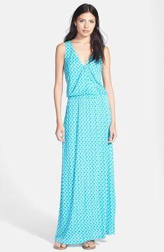 'Jaylen' Stretch Faux Wrap Maxi Dress #nordstrom #joie
