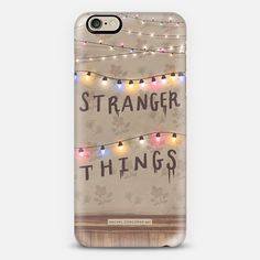 Stranger Things Phone Case by Rachel Corcoran #strangerthings #casetify @casetify