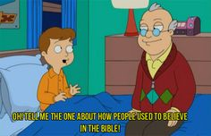 Oh American Dad.