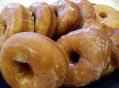 MOM'S RAISED DOUGHNUTS(oh my goodness...this IS the recipe my Mother used & still does...)