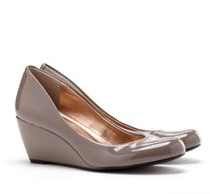 closed toe wedge = my shoes of choice for teaching! Now to purchase more colors!