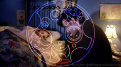 """""""We're all stories in the end."""" in Circular Gallifreyan"""