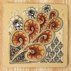 Lily's Tangles: Diva's Amanda Day/Earth Day Challenge and weekly tiles.
