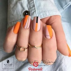 Nail Art Designs In Every Color And Style – Your Beautiful Nails Diy Nails, Swag Nails, Glitter Manicure, Grunge Nails, Nagellack Design, Minimalist Nails, Best Acrylic Nails, Dream Nails, Nail Decorations