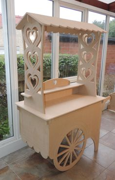 Top quality traditional style Candy Cart for by MadeInTheDukeries