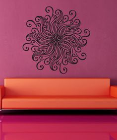 Vinyl Wall Decal Sticker Flower Mandala #1567 from StickerBrand. Saved to Things I want as gifts.