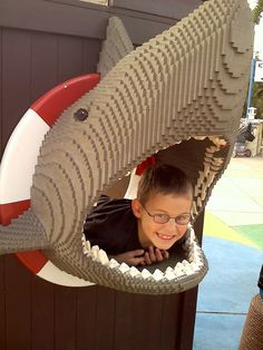 lego shark I will totally have this for my kids/nieces/nephews