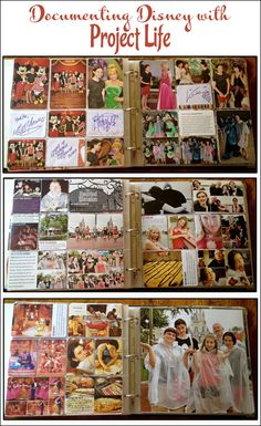 Of course!  I have SOOOO many Disneyland pix that I've put off finishing my album -- too overwhelming.  But with dividers...I don't have to layout every page, I can just put in the pix, embellish a bit, do the journaling and viola!