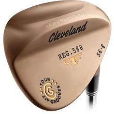Cleveland Golf 588 Forged RTG (Raw Tour Grind) Wedge Wilson Golf Clubs, Callaway Irons, Golf Wedges, Cleveland Golf, Golf Putters, Golf Shop, Golf Irons, Mens Golf, Golf Tips