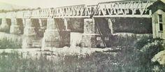 Komatipoort Bridge - Girders on the Veld South Africa, Bridge, Illustration, Painting, Outdoor, Outdoors, Painting Art, Bridges, Bro