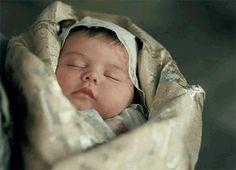 baby Arthur, Queen Elizabeth of York's first son