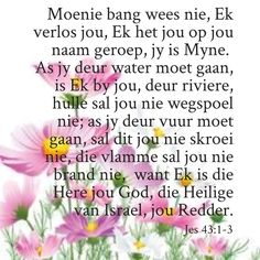 Afrikaans Quotes, Jesus Loves Me, Daughter Quotes, Christianity, Qoutes, Bible Verses, Encouragement, Prayers, Inspirational Quotes